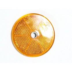 Reflectante amarillo circular diametro 60 mm