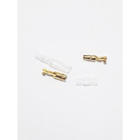 Conectores de bala macho hembra