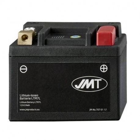 Bateria de litio jmt ytz7s para yamaha n-max 125