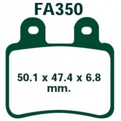 Pastilla freno trasera ebc sfa350 peugeot geopolis